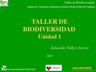 Taller de Biodiversidad