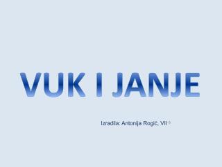 VUK I JANJE