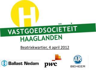 Beatrixkwartier, 4 april 2012