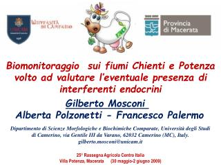 Gilberto Mosconi  Alberta Polzonetti - Francesco Palermo