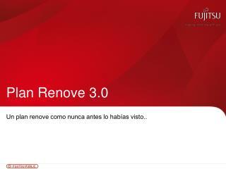 Plan  Renove  3.0