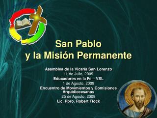 San Pablo y la Misión Permanente