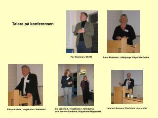 Börje Årnedal, Högskolan i Halmstad