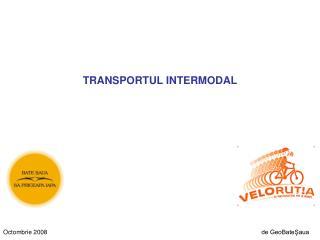 TRANSPORTUL INTERMODAL