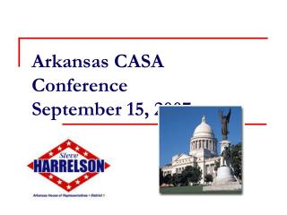 Arkansas CASA Conference  September 15, 2007