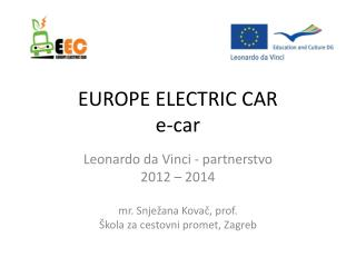 EUROPE ELECTRIC CAR e-car