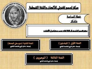 مركز إسمو إفنوتي للألحان واللغة القبطية