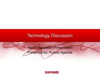 Technology Discussion