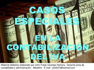 CASOS ESPECIALES
