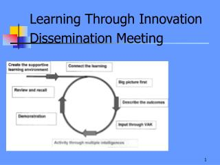 Learning Through Innovation Dissemination Meeting