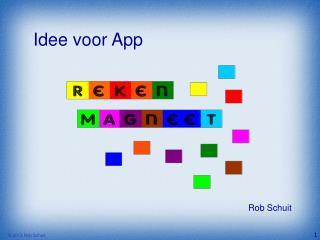 Idee voor App