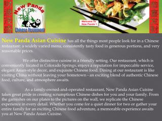 Chinese Food| Restaurant| Dining| Delivery - Colorado Spring