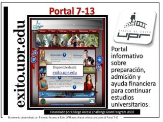 Propósito  del Portal