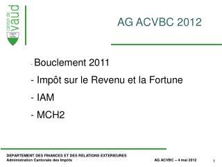 AG ACVBC 2012