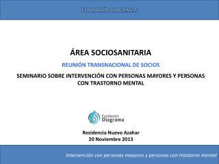 ÁREA SOCIOSANITARIA REUNIÓN TRANSNACIONAL DE SOCIOS