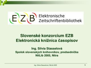 Slovenské konzorcium EZB Elektronická knižnica časopisov