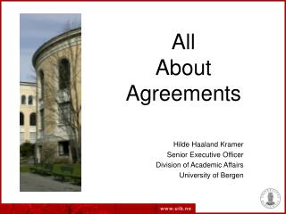 All  About Agreements