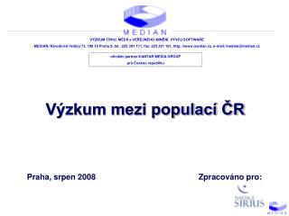 Výzkum mezi populací ČR