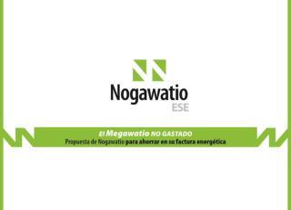 Introducción Misión de Nogawatio ESE Principales actividades desarrolladas Organigrama y CV