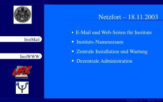 Netzfort – 18.11.2003