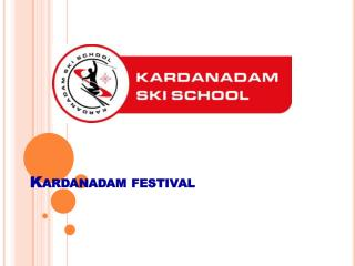 Kardanadam festival