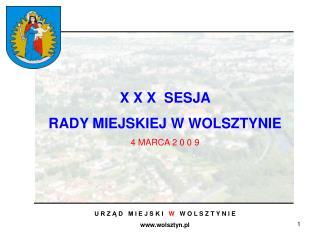 U R Z Ą D   M I E J S K I    W    W O L S Z T Y N I E  wolsztyn.pl