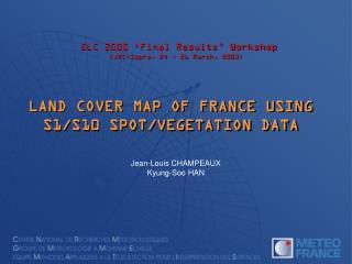GLC 2000 'Final Results' Workshop (JRC-Ispra, 24  ~  26 March, 2003)