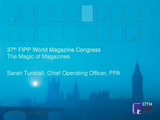 37 th  FIPP World Magazine Congress