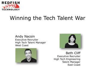 Winning the Tech Talent  War