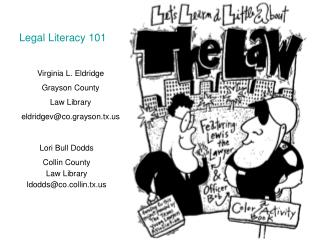 Virginia L. Eldridge Grayson County  Law Library eldridgev@co.grayson.tx