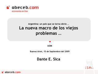 Dante E. Sica
