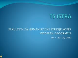 TS ISTRA