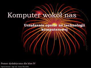Komputer wokół nas