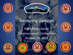 Venturing Updates