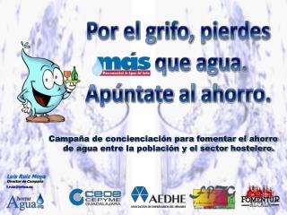 Luis Ruiz Moya Director de Campaña l.ruiz@tehsa.es