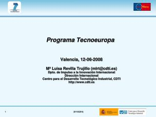 Programa  Tecnoeuropa