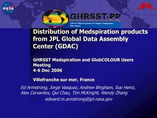 Introduction - GHRSST data management