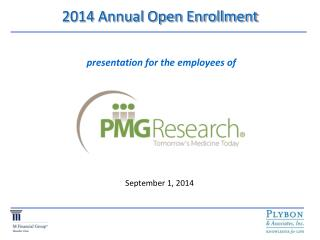 2014 Annual Open Enrollment