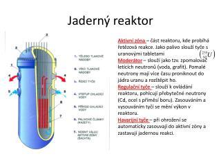 Jaderný reaktor