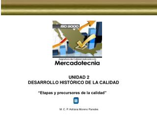 """UNIDAD 2 DESARROLLO HISTÓRICO DE LA CALIDAD """"Etapas y precursores de la calidad"""""""