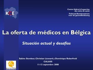 La oferta de médicos en Bélgica