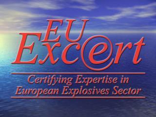 EuExDL or EUEXcert II European Explosives Driving  Licence