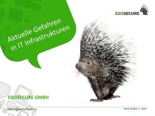 Aktuelle Gefahren in IT Infrastrukturen