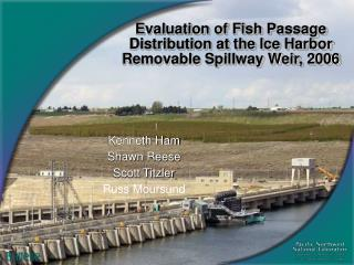 Evaluation of Fish Passage Distribution at the Ice Harbor Removable Spillway Weir, 2006