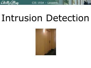 CIS 193A – Lesson5