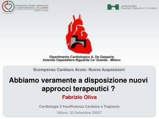 Scompenso Cardiaco Acuto: Nuove Acquisizioni