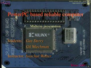 PowerPC based reliable computer