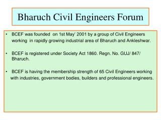 Bharuch Civil Engineers Forum