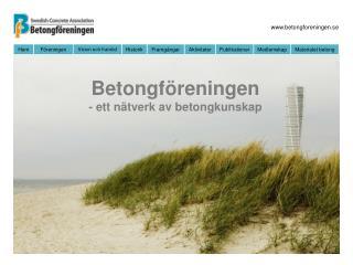 Betongföreningen - ett nätverk av betongkunskap