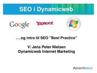 SEO i Dynamicweb